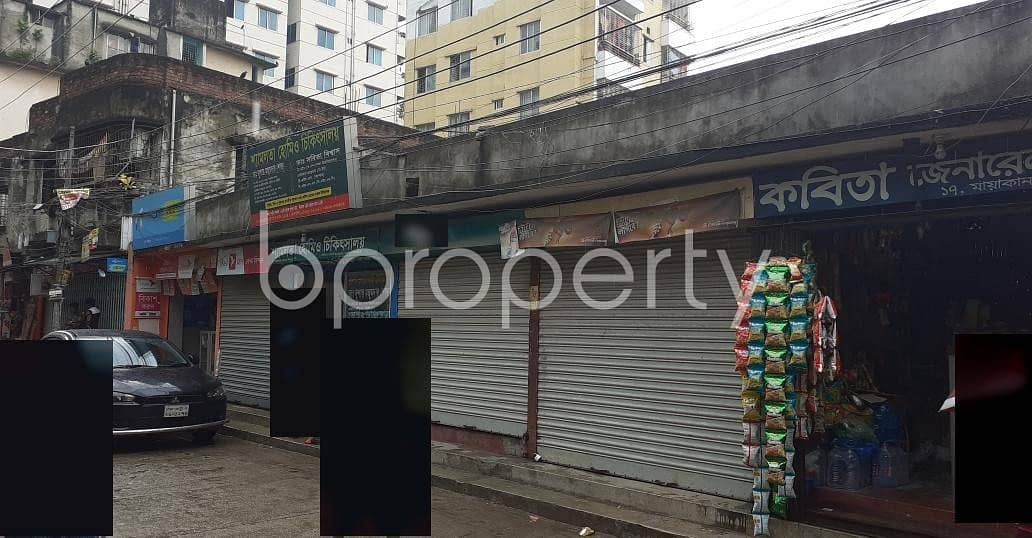 A Shop Is Up For Rent In Sabujbag Near Dip Shikha Pre Cadet School and College.