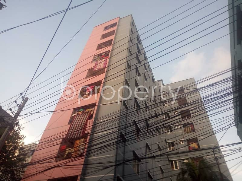 Visit This Apartment For Sale In Maghbazar Near Baitul Mamur Jame Mosque.