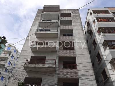 Grab This Flat Up For Rent In Bashundhara Near American International University-bangladesh