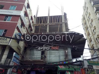 A Shop Is Up For Rent In Bashundhara R-A Near Eastern Bank Limited