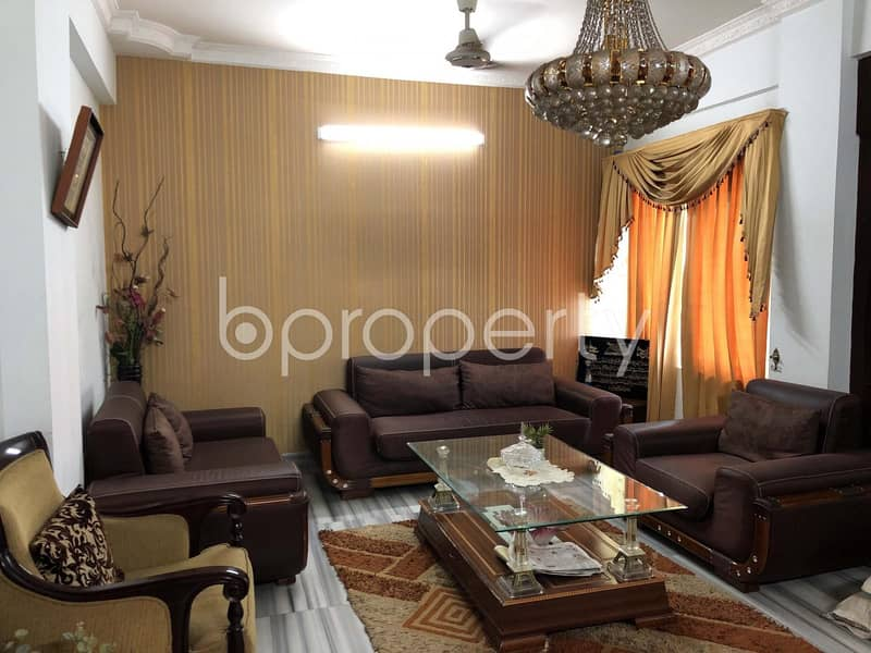 Spectacular Apartment For Sale In Bashundhara R-A Near North South University
