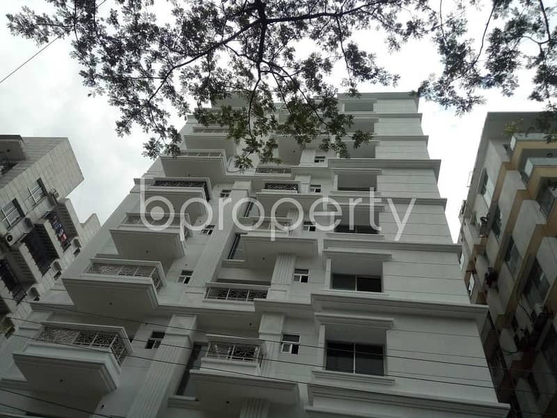 Grab This Flat Up For Sale In Bashundhara Near Sunflower School And College