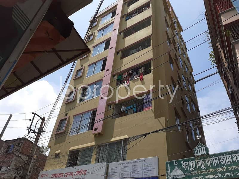 Take This Residential Flat Is For Sale At Dhalpur Area Nearby Jatrabari Model High School