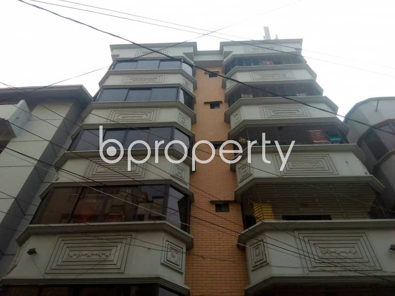 At Nikunja 2, Nice Duplex Flat Up For Rent Near Residential Laboratory College