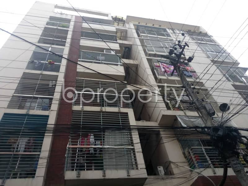 An Apartment for sale is all set for you to settle in Enayet Bazaar Ward close to Love Lane Tablig Masjid Complex