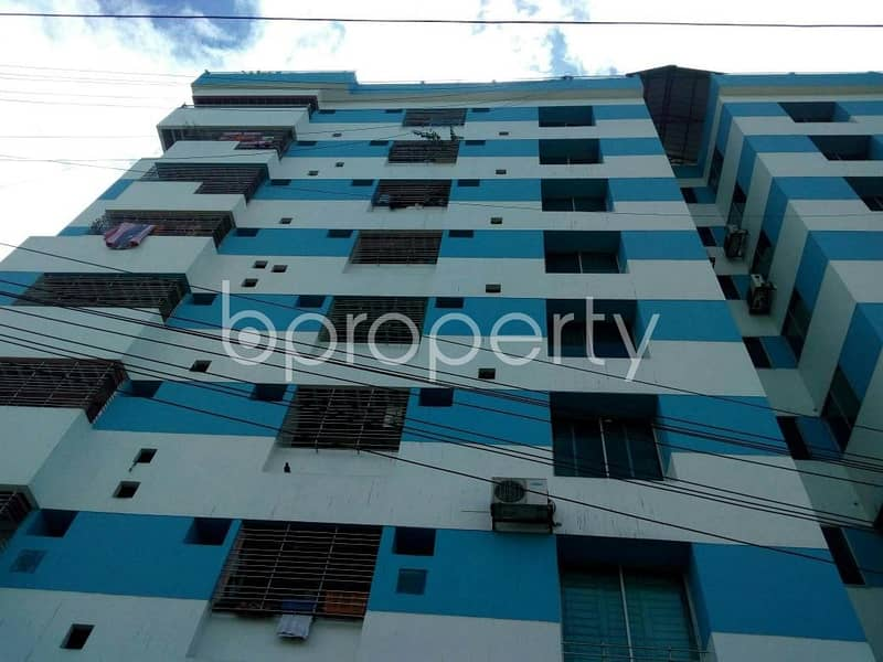 A flat for sale in Double Mooring near Shoikot CNG Filling Station