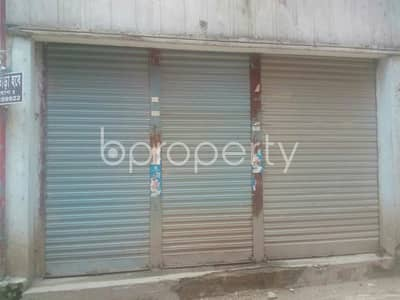 This 150 Sq. Ft. shop is up for rent in Malibagh near to City Dental College