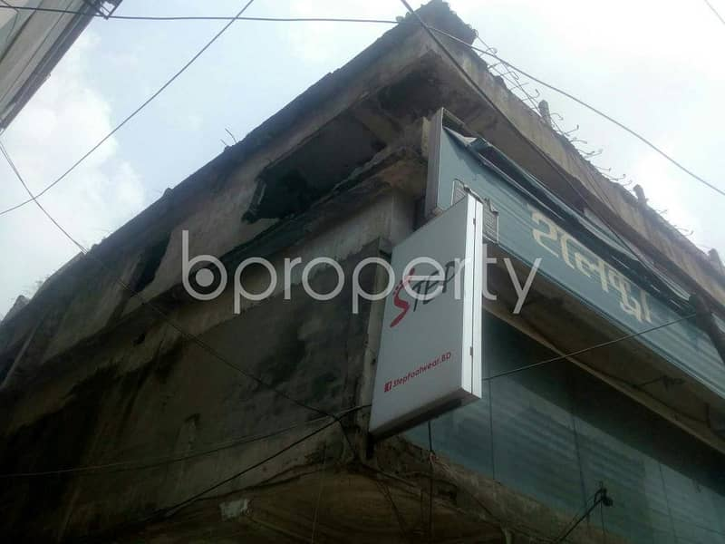 This Shop Is Up For Rent In Rampura Near To Brac Bank Limited.