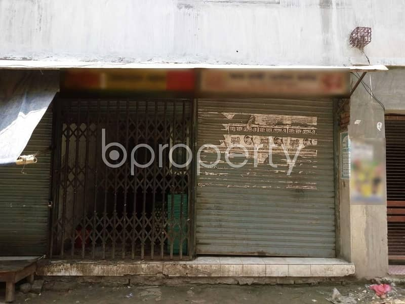 105 Sq. Ft. shop is up for rent in Mohammadpur near to Winsome School & College