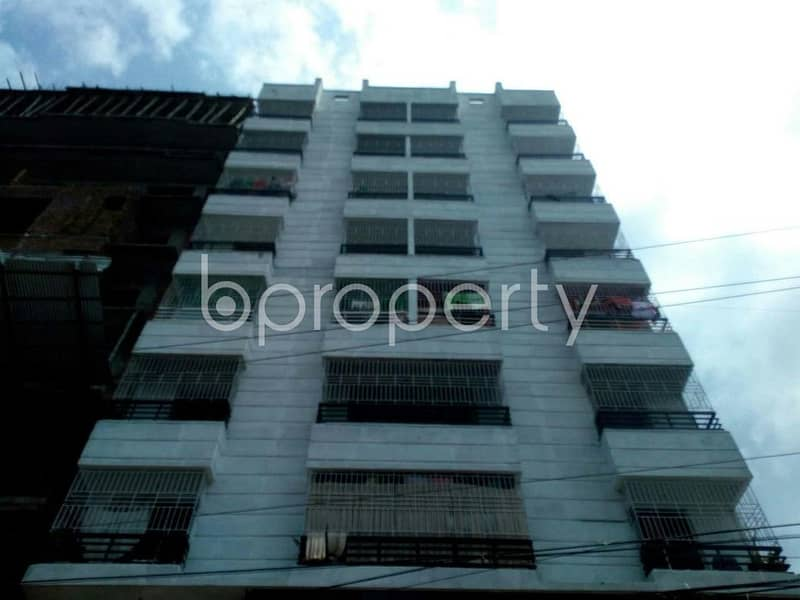 Visit this apartment for sale covering an area of 1350 SQ FT in Ashoktala near Masud Medical Hall