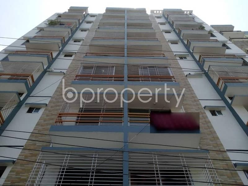 This 1450 SQ Ft apartment up for rent in Mohammadpur, near Winsome School & College.