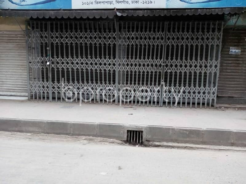 Commercial Shop Is Up For Rent In Khilgaon Near Khilgaon Ahle Hadith Jame Masjid