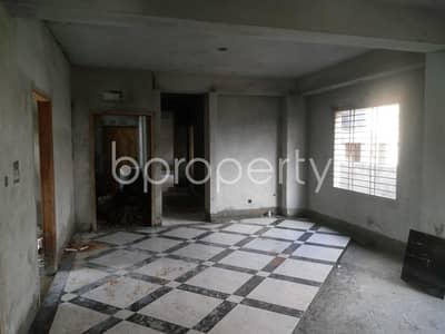 Flat For Sale Covering A Beautiful Area In Katashur Nearby Kaderabad Housing Estate Jame Masjid