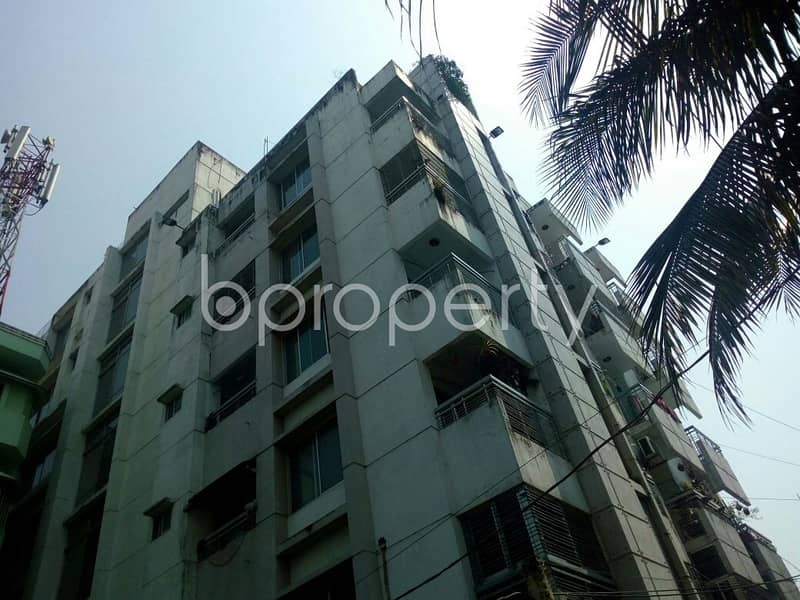 An apartment is up for sale in Khulshi, near Khulshi Green Housing Society.