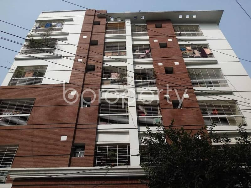 Take This Residential Flat Is For Sale At Lalmatia Area Nearby Block C Field