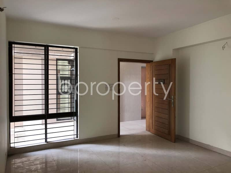 Fascinating Flat Is Up For Sale In Dhanmondi Nearby Junior Laboratory High School.