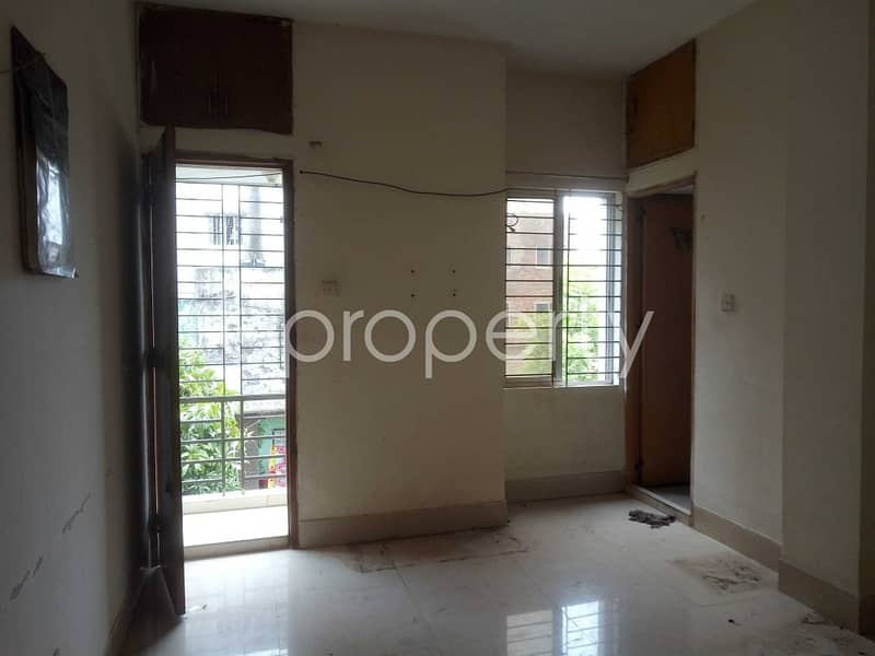 A 650 Sq Ft Flat Is Up For Sale In Mirpur Nearby Shaheed Suhrawardi Indoor Stadium
