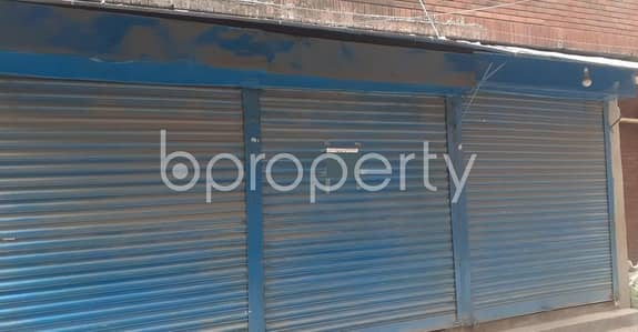 Shop for Rent in Ibrahimpur, Dhaka - In Ibrahimpur Near Monipuri School, A Shop Is Vacant For Rent.