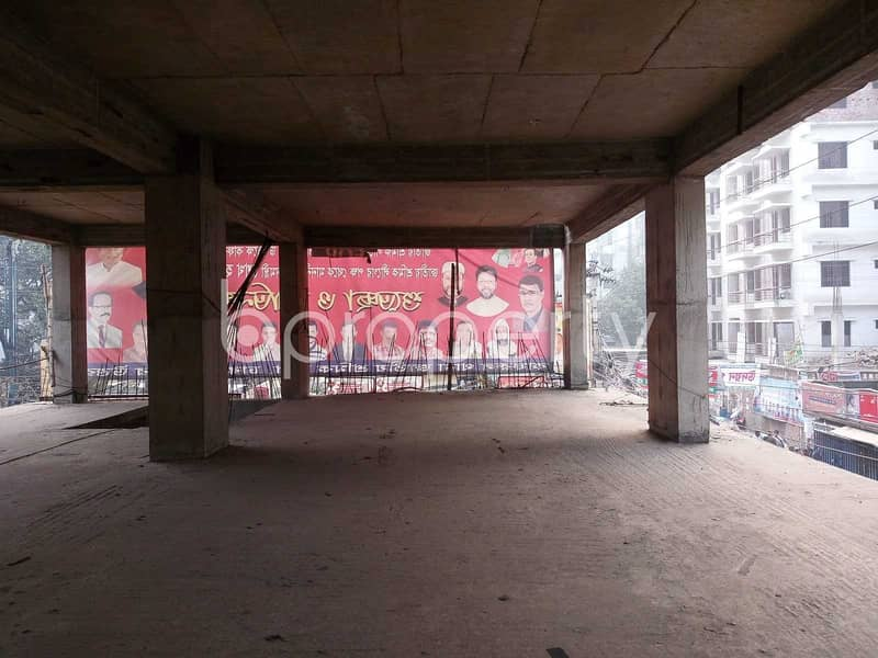 A Perfectly Designed 2,200 Sq Ft Commercial Space For Sale Located In Mirpur Near Nokia Store