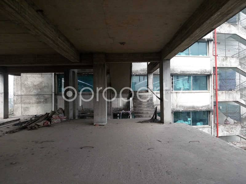 This Office Space Of 2,200 Sq Ft For Sale, With A Convenient Structure And Terrific Outlook, Is Located In Mirpur Close To Senapara