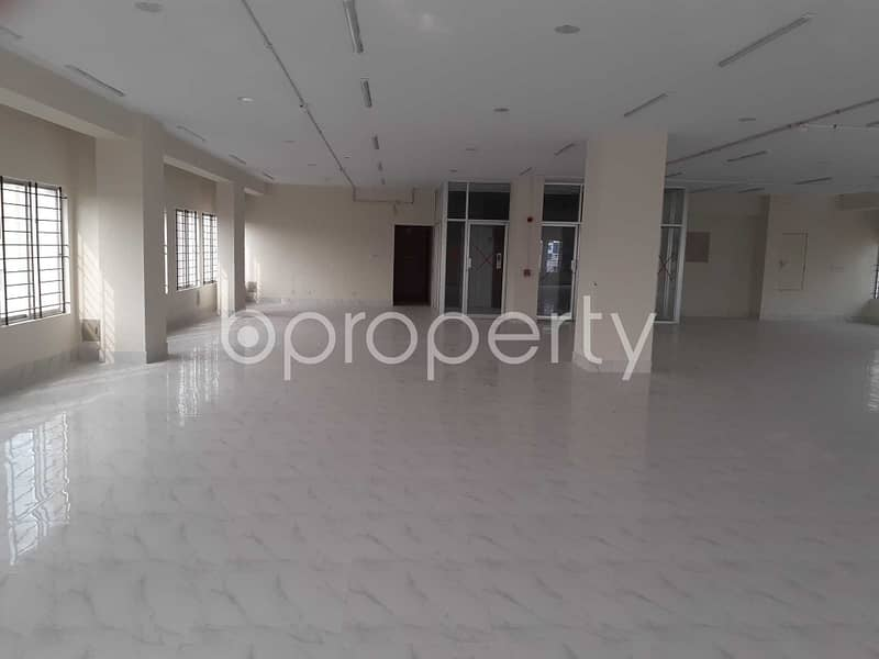 Planned Office Space Of 4500 Sq. Ft At Mirpur Near Haji Road Is Available For Rent