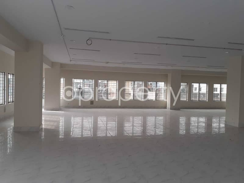 A Sophisticated Commercial Office Can Be Found In Mirpur For Rent, Near Haji Road