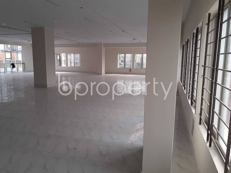 Make Your Office In A Decent Commercial Floor At Mirpur, That Is Ready For Rent