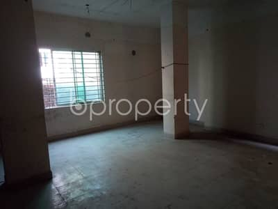 In Shahjadpur near United Commercial Bank Limited this office space is up for sale.