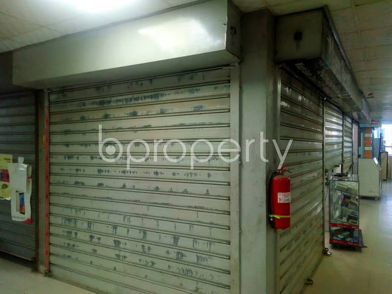 See This Commercial Space Up For Sale In Badda Near Al-arafah Islami Bank Limited