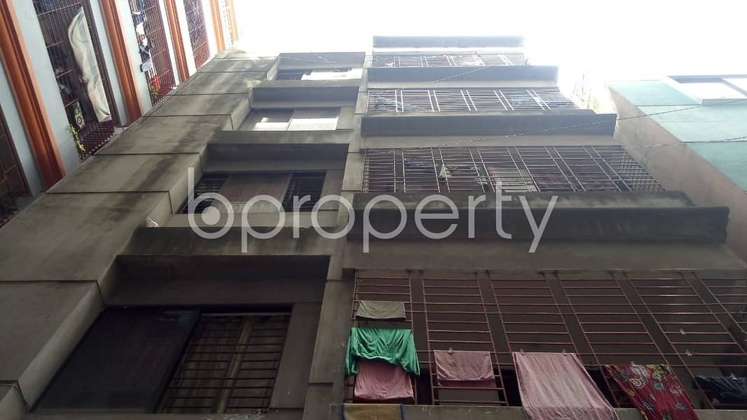 Properly Constructed Flat For Sale In Maghbazar, Near One Bank Limited