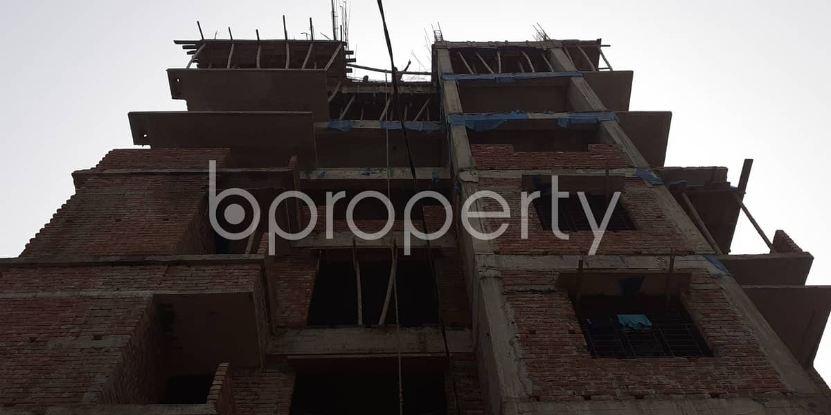 1130 Sq. Ft. flat is now up for sale located near to Apollo Hospitals in Bashundhara R-A