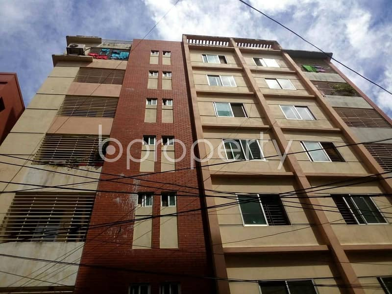 A Worthwhile Residential Flat Is Ready For Sale At Nasirabad Adjacent To Karnaphuly Complex