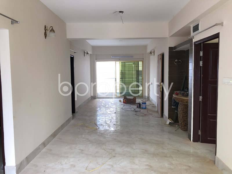 Impressive Flat Is Up For Rent In Bashundhara R-A Near Baitul Jannat Jame Masjid