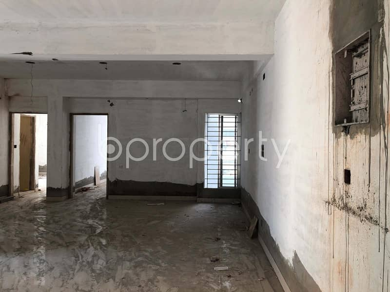 Visit This Apartment For Sale In Bashundhara R-A Near Ebenzer International School