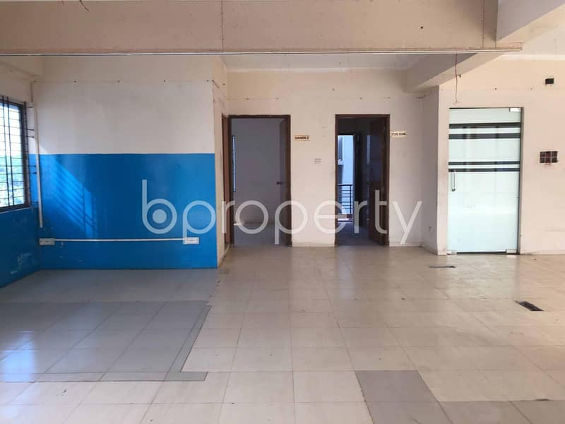 A Commercial Space Is Available For Rent Which Is Located In Uttara Nearby Uttara University