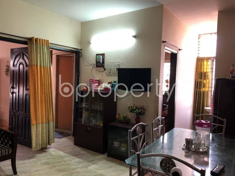 Visit This Apartment For Sale In Dakshin Khan Near Nogoriabari Mohammadia Jame Masjid