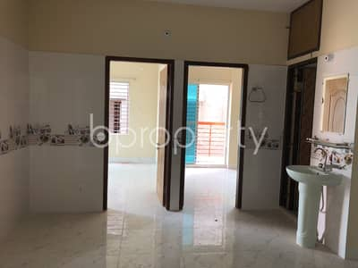 Well Planned Flat Is Up For Sale In Uttar Badda, Very Close To Uttar Purba Badda Government Primary School