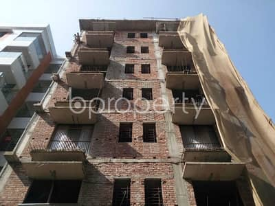 Start A New Home, In This Flat For Sale In Aftab Nagar, Near Dhaka Imperial College