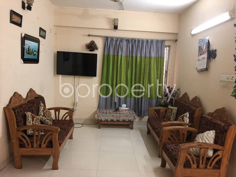 A Fascinating Apartment In Uttara Near Shanto Mariam University Is Up For Sale