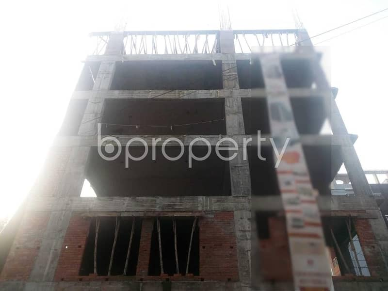 An Apartment Which Is Up For Sale At Aftab Nagar Near To East West University.