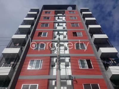 An Apartment Up For Sale Is Located At Aftab Nagar, Near To Dhaka Imperial College.