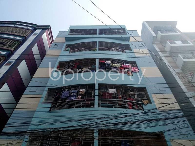 Near Kacha Bazar 900 SQ FT flat for rent in Uttara