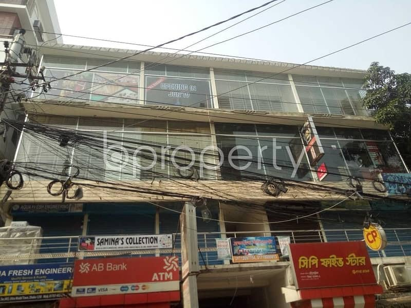 1200 SQ FT office for rent in Uttara Sector 3 near mosque