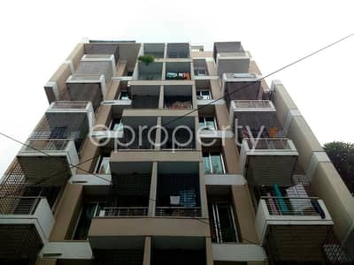 1300 SQ FT flat for rent in Bashundhara R-A near North South University