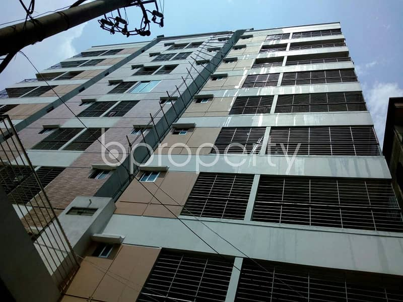 Apartment Is Up For Rent At Dhanmondi Nearby Baitul Aman Masjid