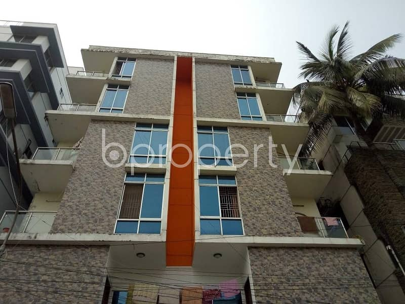 For Rental Purpose, Nice Flat Is Now Up For Rent In Lalmatia Near Lalmatia Mohila College