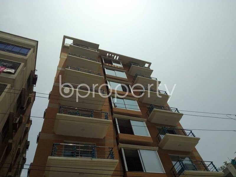 A 2600 SQ FT apartment is waiting for rent at Bashundhara nearby American International School Dhaka