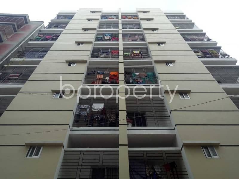 Apartment for sale at Banasree nearby Dutch-Bangla Bank Fast Track ATM