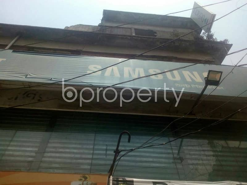 300 SQ FT office for rent in Rampura near Maliha Convention Center