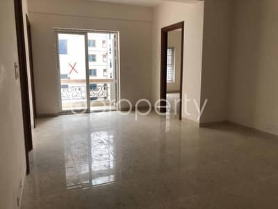 In The Beautiful Neighborhood In Bashundhara R-a A Flat Is Up For Rent